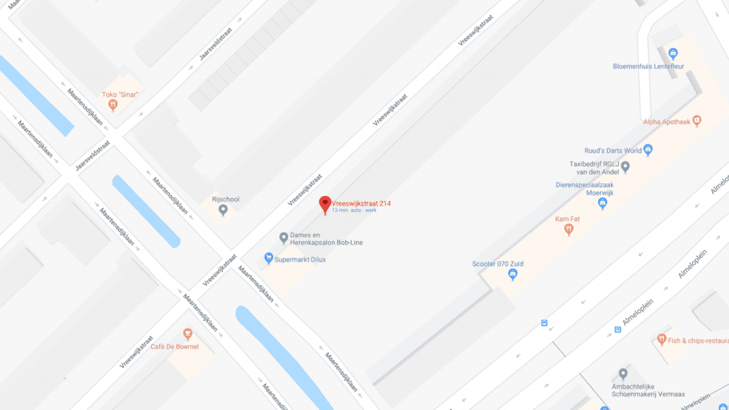 Maps Slotenservice